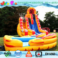 20ft tall dual lane giant inflatable water slide for adults