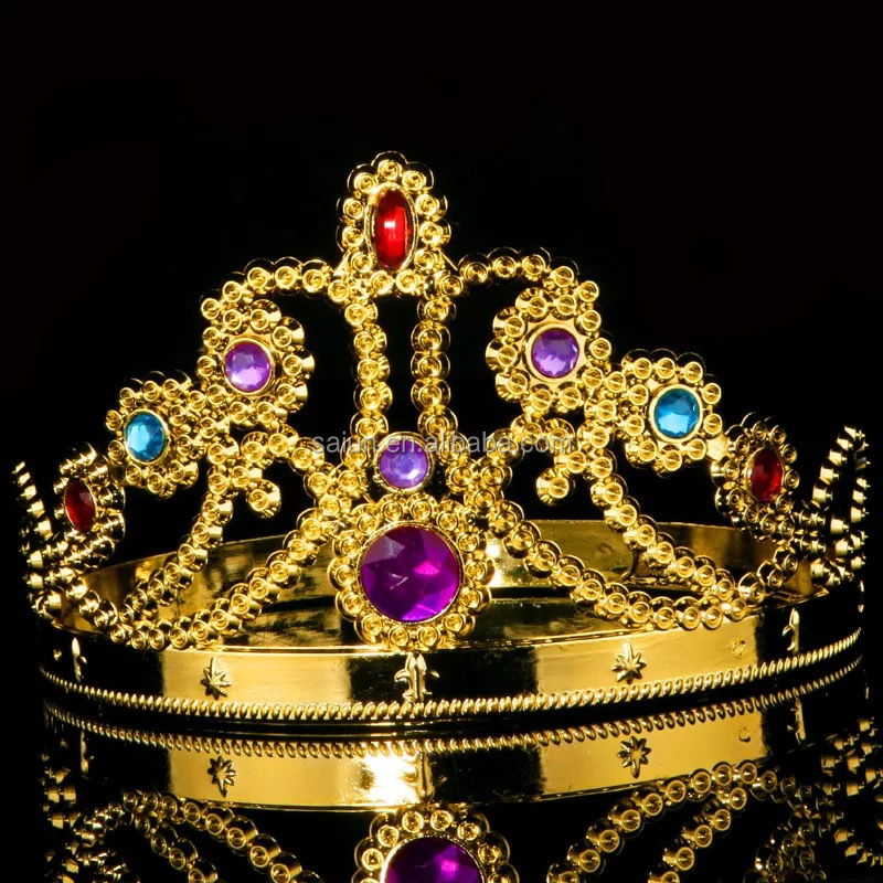 New fashion Party Beauty pageant Rhinestone Queen Crown for sale