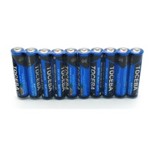 10 PACK R03C AAA PVC Jacket 1.5V Dry Cell Battery