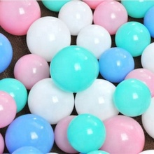 Earn Money BPA Free 5.5 To 8 CM Colorful Custom Food Grade Plastic Baby Game Ocean Sea Ball Pit Balls