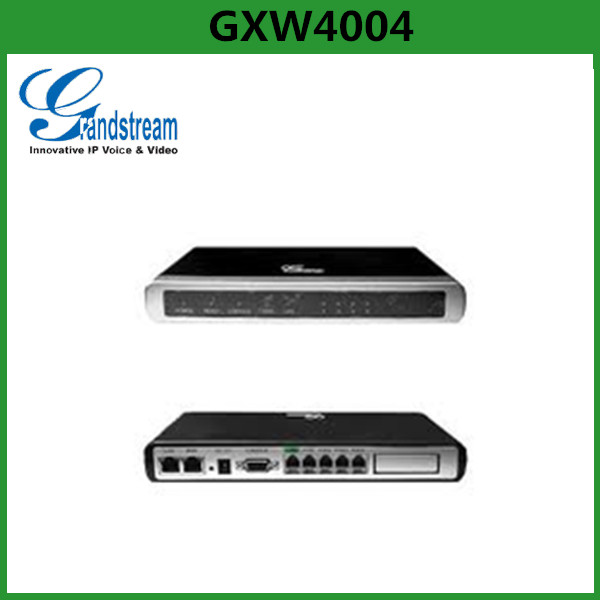 Grandstream IP Analog Gateway GXW4004 Online Payment Gateway With 2 RJ45 10/100Mbps