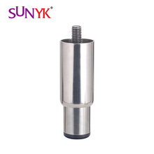 round stainless steel furniture feet base adjustable feet