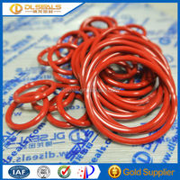 Red Custom Rubber Silicone O Ring