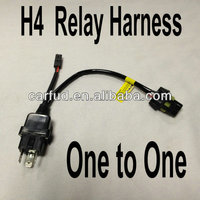 Factory direct one to one smart h4 relay harness