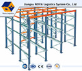 Heavy duty warehouse drive-in racking system
