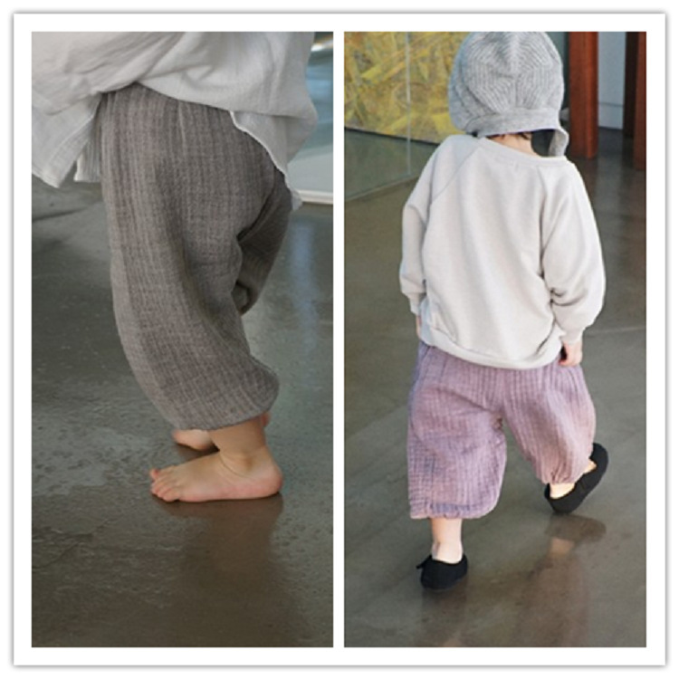 F10137A Baby girls latest spring / summer children's clothing cotton yarn pants newest style bloomers for kids