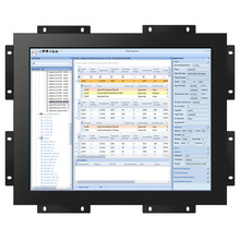 15 inch 4:3 open frame touch screen monitor