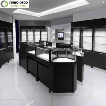 Exclusive fancy style jewellery shop showcase for jewelry