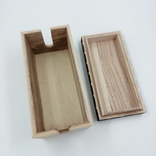 laser cut wooden box and wood slide box with good quality