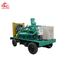 200cfm-1800cfm Large Flow Rate Screw Piston Combined Water Cooled Air Compressor