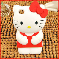 silicone hello kitty mobile phone case for samsung wholesale
