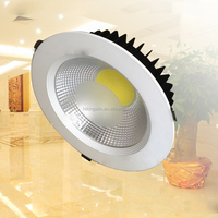 shopping center jewelry showroom brass high quality power Isolated driver ip68 round 3w 5w 7w 30W cob led downlight China
