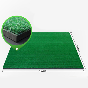 Golf driving range practice hitting and stance mat Tri-Turf Golf Hitting Mat Portable Driving, Chipping, Training Aids for Back
