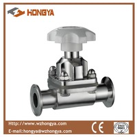 SS304 Sanitary Stainless Steel Diaphragm Valve