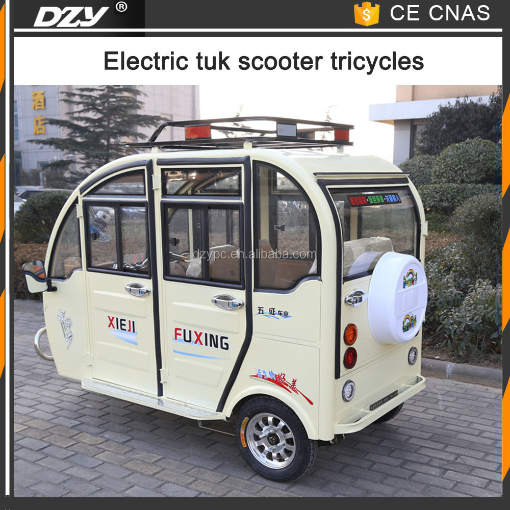 Pedal Assist Electric Rickshaw Tricycle