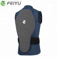 Back Protector For Ski Snowboarding Super Shock Absorbing Padding