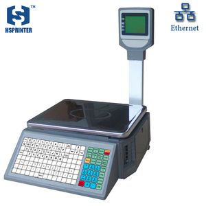 30kg Electronic Digital Barcode Label Printing Weighing Scales with Printer HS-LD16-LP