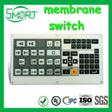 High Quality~~HOT!!~Smart bes~keypad membrane switch,touch screen keyboard tactile membrane foil switch