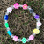 New arrive fashion kids bead bracelets colorful acrylic bracelets