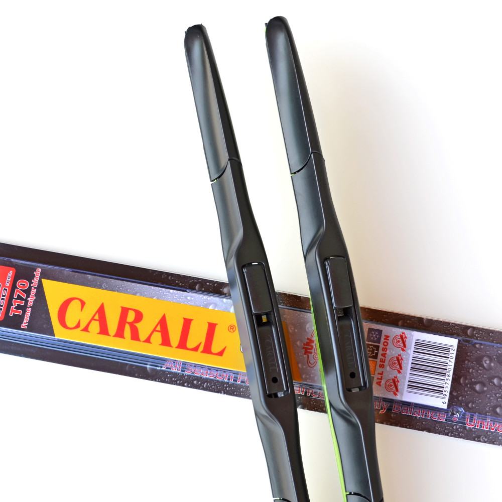 Guangzhou CARALL Wiper Blade T170 Whisk Wiper ABS Hybrid Windshield Wiper Blades