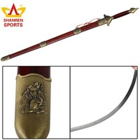 chinese handmade wushu swords with dragon handle