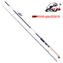 Brand-OSP Fishing tackle 2 section high carbon guide fishing spin rod