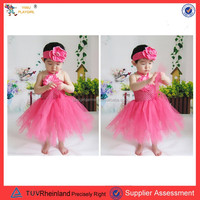 PGT-0070 Bella fairy crochet tube top tutu top, crochet top tutu lined, baby girl crochet tube top