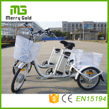 China manuefacture 250w 24 inch Electric tricycle / three wheeler/ cargo tricycle