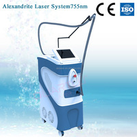 Alexandrite laser 755nm permanent hair removal laser device