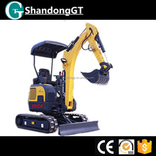 GT YH16 1.6t mini crawler china minibagger for Sale