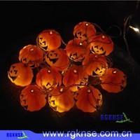 2016 rgknse high quality party celebration halloween pumpkin candy pails plastic halloween pumpkin