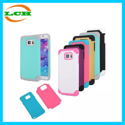 Hotsell 2 in 1 shockproof silicone PC Case Cover for Samsung galaxy note 5