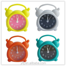 Soft mini clock travel clock with alarm