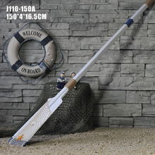150CM wooden nautical craft boat oar home decoration