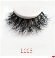 3d luxury mink eye lashes for custom eyelash packaging D008