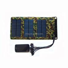 Foldable solar mobile charger pack solar panel charger bag