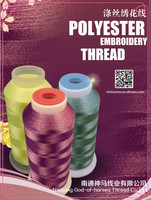 Hot-sale super shiny machine embroidery thread of polyester