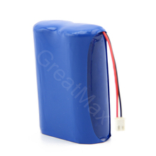 High powered 2cells rechargeable 18650 lithium-ion 3.7v 4400mah battery pack for bicycle head light