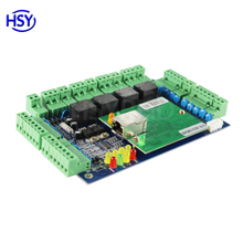 HSY-04B 4 doors controller TCP/IP+Wiegand interface access control board