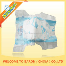 Useful soft super absorbent printed cartoon cloth adult baby girls in diapers
