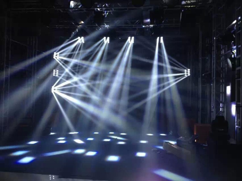 Factory direct supply 8X10W RGBW 4in1 LED's Spider Beam Moving Head Bar DJ Club Lights