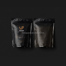 laminated multiple layer plastic aluminum foil coffee bean packaging bags