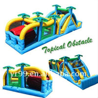 amusement Inflatable obstacle course game