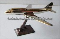 Cast Aluminum Decorative Aeroplane/ Air bus/ Air plane/ Table top/ Desktop for Home & Office Decoration/ Gifts