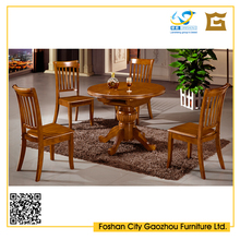 Solid Wood Ash Tree MDF Rubber Oak Pine Beech Wood Dining Table