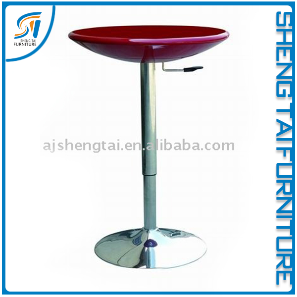 Good quality wooden wine barrel bar table china supplier