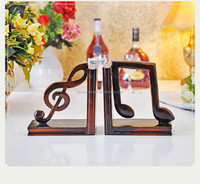 USA Music Note Polyresin Bookend For Home Decoration From China