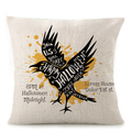 Fly animals fancy character motivational decorative pillow case for Halloween