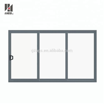 Australia Standard Thermal Insulated Double Glass Aluminium Sliding Doors
