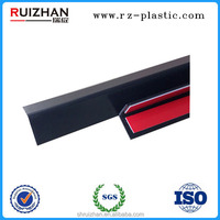 Commercial White And Black Rigid Plastic